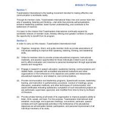 Bylaws Template Download Our Sample Of Corporate Bylaws Template