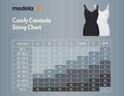Medela Nursing Bra Size Chart Maternity Nursing Comfy Cami Black Large Medela