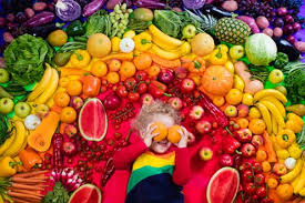 Rainbow Fruits And Vegetables Chart How To Get Children To Eat A Rainbow Of Fruit And Vegetables