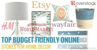 unique home decor stores online unique home decor items online
