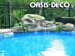 inground pool waterfalls. Inground Pool Waterfalls S Rock Waterfall Kits Swimming Uk N