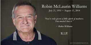 Robin Williams Quotes New Robin Williams Dies Aged 48 Memorial Funeral Stationery Blog