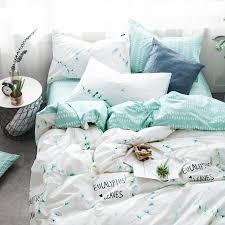 silk bedding sets 100 cotton fl grass bedding set cartoon modern flower queen size stripe bed silk bedding sets