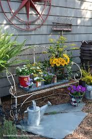rustic outdoor decor best rustic garden decor images on gardening garden ideas and outdoor gardens rustic