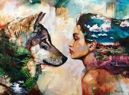 Teen art paintings by