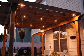 diy pergola design ideas lighting image outdoor string lights for create modern deisgn stylish with