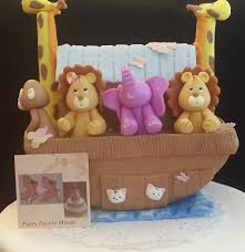 noahs ark baby shower ideas for baby shower party. Noah\u0027s Ark Cake Topper, Figurine, Noahs Baby Shower, Birthday, And Animals Decorations Shower Ideas For Party N