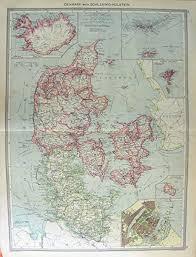 ˈdænmɑːk], amtlich königreich dänemark, dänisch kongeriget danmark) ist ein land und souveräner staat im nördlichen europa und eine parlamentarische monarchie. Amazon De Harmsworth Karte Danemark 1906 Island Kopenhagen Ostsee
