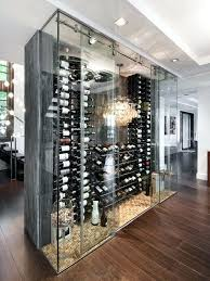 glass wine cellar why not create a display as focal point if you have the room glass wine cellar