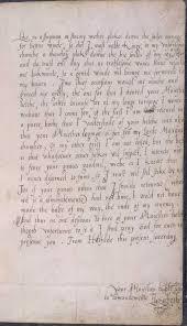 Letter From Elizabeth To Edward Vi Excerpt Probably Written In