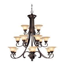brittany three tier 15 light chandelier