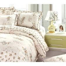 french country duvet covers country fl lacy cotton 4 piece duvet cover set french country style