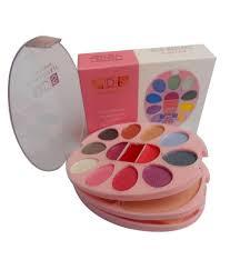 ads color series makeup kit 10 eyeshadow 2 powder 2 blusher 3 lip