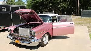 1957 Chevrolet Bel Air For Sale~Body Off Restoration~Dusty Rose ...