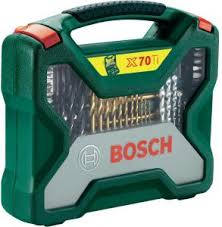 <b>Bosch 2607019329 70</b> Piece <b>X</b>-<b>line</b> Drill And Screwdriver Bit Set ...