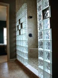 glass block window in shower acrylic glass block glass block bathroom window glass block showers in