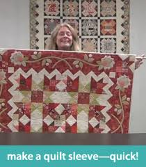 Make a quilt sleeve--quick! | How to Quilt | Pinterest | Tutorials ... & Make a quilt sleeve--quick! pin it on Adamdwight.com