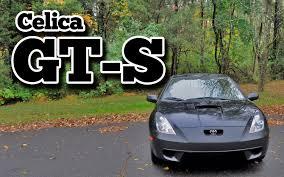 Regular Car Reviews: 2000 Toyota Celica GTS - YouTube