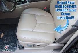 seat cover tan driver bottom heated