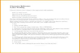 How To Type References For Resume Related Post How To Write A Personal Reference Character