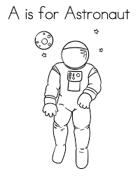 Small Picture A is for astronaut coloring pages ColoringStar