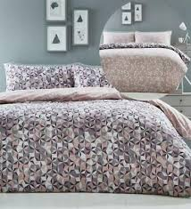 king size duvet cover set oracle pink