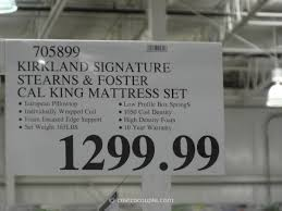 stearns and foster king mattress. Kirkland Signature Sterns And Foster San Remo Cal King Mattress Costco 1 Stearns .