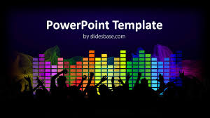 Music Powerpoint Template Music Flow Powerpoint Template