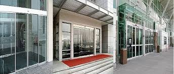 automatic glass sliding doors flood protected