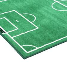 sports area rugs fun time soccer field rug for nursery boston themed