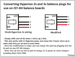 all about lipo balance connectors 4s Lipo Wiring Diagram BMS Wiring Diagrams for 7 Cells