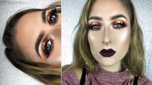 how to beat your face the max easy fall makeup tutorial