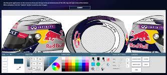 infiniti offers f1 fans the chance to design sebastian vettel s