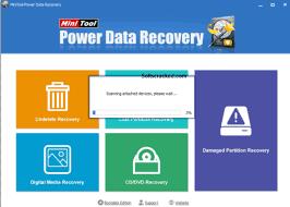 تحميل برنامج MiniTool Power Data Recovery استعادة الملفات المحذوفة بعد الفورمات كامل مجانى