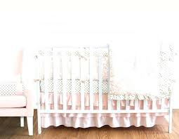solid crib bedding solid color crib bedding blush pink gold and white baby bedding girls crib