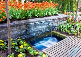 Small Picture Ideas 23 Natural Backyard Pond With Decorative Rock Garden