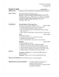 likable bank resume with teller bank teller sample resume