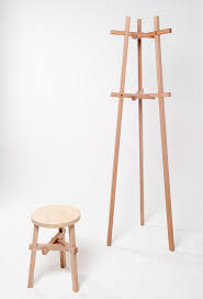 Coat Rack Sydney Moo Stool And Coat Rack By Kenan Wang For Evie Group COAT RACK 62