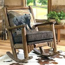 log rocking chair log rocking chair plans