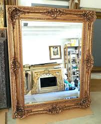rustic black wood frame. Wall Mirrors: Rustic Wooden Frame Mirror Large Wood Resin Louis Xv 60x60 Rectangle Beveled Framed Black N