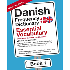 Learn vocabulary, terms and more with flashcards, games and other study tools. Danish Frequency Dictionary Essential Vocabulary 2500 Most Common Danish Words Danish English 9789492637482 Mostusedwords Jensen Jonas Books Amazon Com