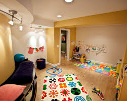 basement playroom paint interior designs ideas with color for