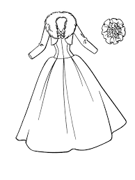 Small Picture wedding dress coloring pages Printables Pinterest Kids colouring