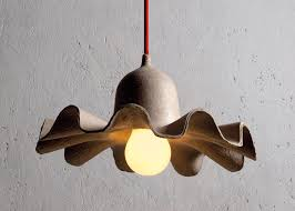 eco friendly lighting fixtures. Egg Of Columbus Recycled Paper Lamps By Valentina Carretta For Seletti Eco Friendly Lighting Fixtures 2