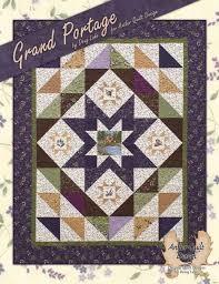 Grand Portage Quilt Pattern Book 7 Projects Doug Leko Antler Quilt ... & Grand Portage Adamdwight.com