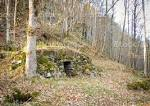 An Old Abandoned Stone Cellar In Flaten At Nes Verk In Tvedestrand ...