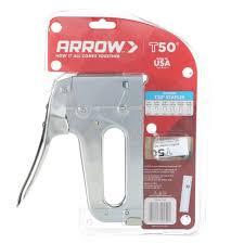 arrow fastener t 50 heavy duty professional staple gun ebay