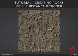 Substance Designer Beginner Artstation Tutorial Creating Rocks In Substance Designer
