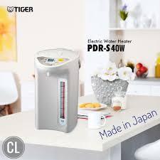 Bình thủy điện Tiger PDR-S40 - Dung tích 4L nhập khẩu nhật bản