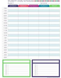 Student Daily Planner With Subjects Homeschool Planner Expansion Pack Homeschool K Homeschool